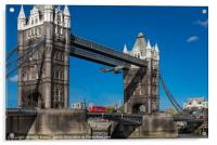 The Tower Bridge Hawker Hunter incident, Acrylic Print