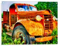 That Old Truck, Acrylic Print