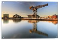 River Clyde Reflections, Acrylic Print
