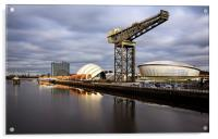 Clyde waterfront, Acrylic Print