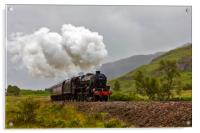 The Jacobite Steam Train, Acrylic Print