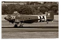 C-47A Sytrain That's All Brother, Acrylic Print