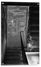The Stairwell, Acrylic Print