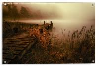 Loch Ard From the Reedbed, Acrylic Print