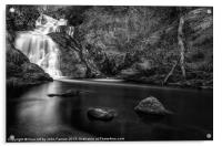 Spectacle ee waterfall, Acrylic Print