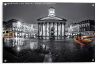 GOMA royal exchange square glasgow, Acrylic Print