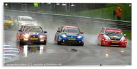 BTCC at Thruxton 2012, Acrylic Print