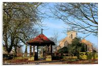 St Martins Owston Ferry, Acrylic Print
