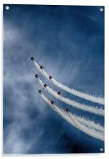 Red Arrows, Acrylic Print
