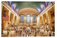 Grand Central Station New York City, Acrylic Print
