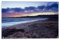 Swanage in Winter, Acrylic Print