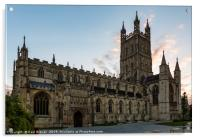 Gloucester Cathedral at Sunrise, Acrylic Print