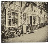 Old fashioned Sweet shop, Acrylic Print