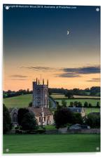 Church of St Philip and St James, Acrylic Print