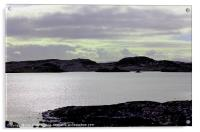 HEBRIDES CENTRAL HEARTLAND OF LEWIS 8, Acrylic Print