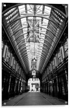 Leadenhall Market London, Acrylic Print