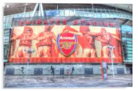 Arsenal Stadium London, Acrylic Print
