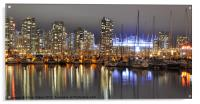 BC Place and Harbour, Acrylic Print