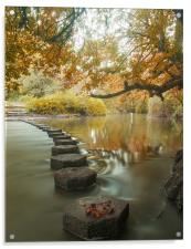 Stepping stones 1, Acrylic Print