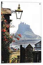 On The Way To Lindisfarne Castle, Acrylic Print