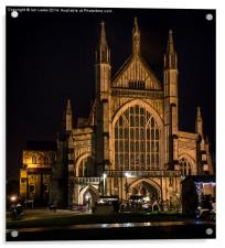 Winchester Cathedral at Christmas , Acrylic Print