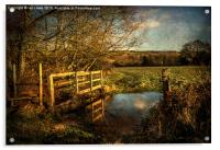 The Path to Sulham , Acrylic Print