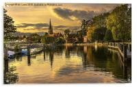 Marlow Late Afternoon, Acrylic Print