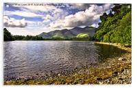 From Friars Crag Derwentwater, Acrylic Print