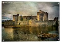 Caerphilly's Stronghold, Acrylic Print