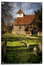 Church of St Mary Sulhamstead Abbots, Acrylic Print