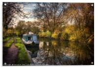 An Autumn Afternoon At Hungerford, Acrylic Print