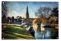 Abingdon on Thames, Acrylic Print