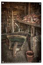 The Garden Shed, Acrylic Print