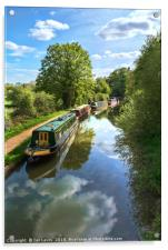The Oxford Canal, Acrylic Print