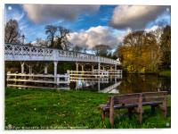Whitchurch Toll Bridge, Acrylic Print