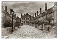 Vicars Close In The City Of Wells, Acrylic Print