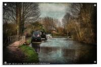 A Walk By The Kennet, Acrylic Print
