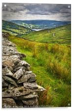 Windermere from The Kirkstone Pass, Acrylic Print