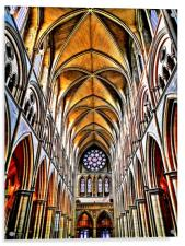 truro cathedral, Acrylic Print