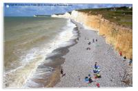 Seven Sisters From Birling Gap  , Acrylic Print