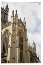 Bath cathedral once again, Acrylic Print