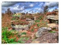 Brimham Rocks North Yorkshire 1, Acrylic Print