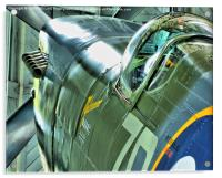 Spitfire MH434 Reflections, Acrylic Print