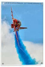 The Red Arrows At RIAT 2017 - 2, Acrylic Print