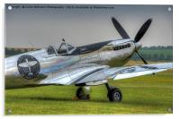 The Silver Spitfire 2, Acrylic Print