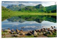 Reflections In A Tarn, Acrylic Print