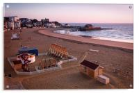 Broadstairs Sunrise, Acrylic Print