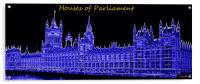 Houses of Parliament, Acrylic Print