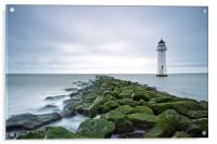 New Brighton Lighthouse (Above and Beyond), Acrylic Print