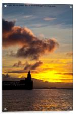 North Sea daybreak, Acrylic Print